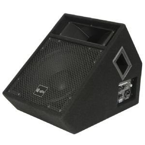 "QTX QT12MA 12"" 150W Active Powered Wedge Floor Monitor Stage Speaker Band Vocal"